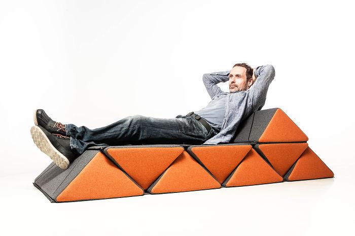 Tango Pouf Design By Ryszard Manczak, Step 3