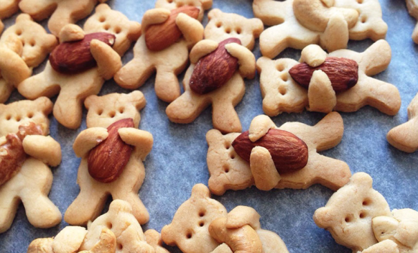 Hugging Bear Cookies
