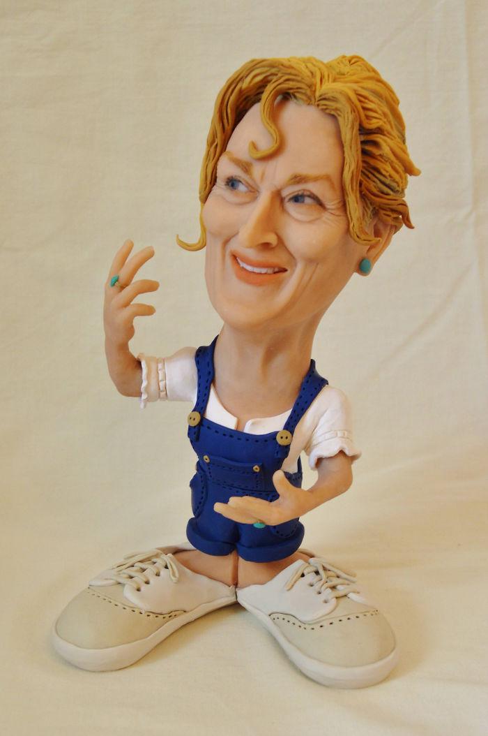 Caricature figurines   Etsy
