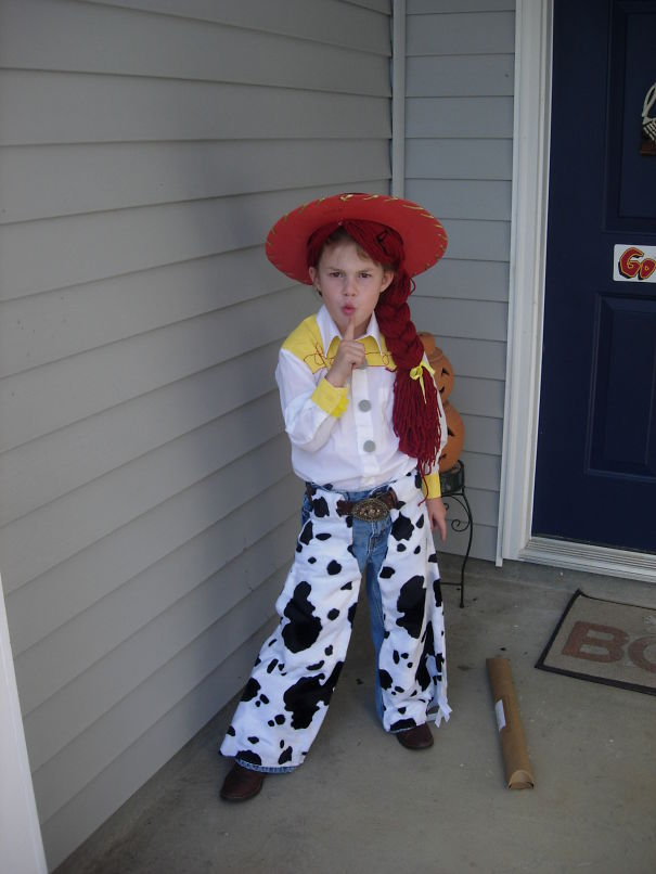 fille Cow-girl