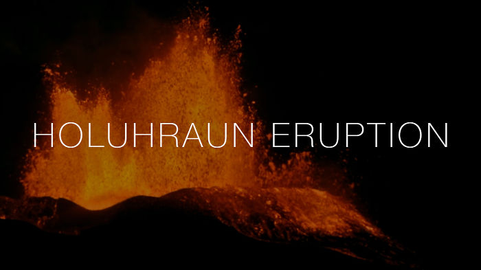 Eruption In Holuhraun (bárðabunga) – Iceland