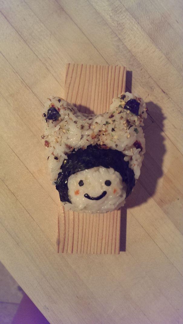 Kitty Hat Onigiri