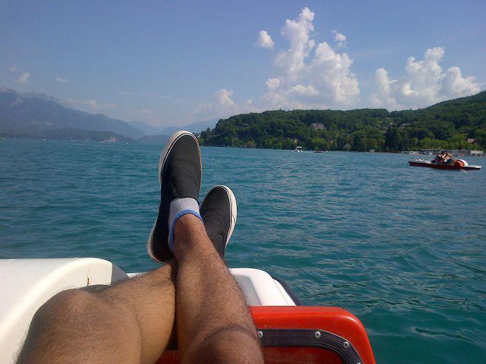 Lac De Annecy, France