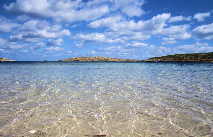 La isla de Comino - Malta