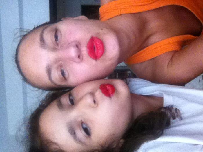 Red Selfie