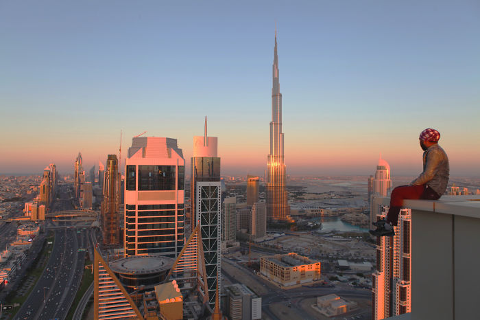 Death Is The Biggest Truth Of Life. Don't Be Scared, Be Adventurous. Love Dubai