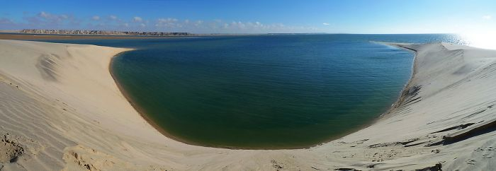 Dakhla Bay, Morocco, Where The Desert Meets The Ocean