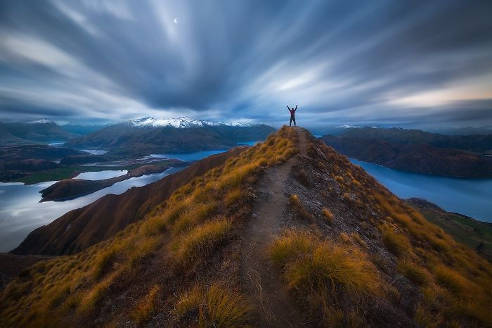 Roy's Peak, New Zealand. Photo Crerdit: Dylan Gehlken
