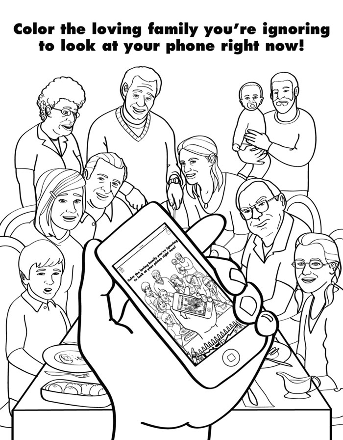 Coloring Book For Grown Ups Mocks Adult Life
