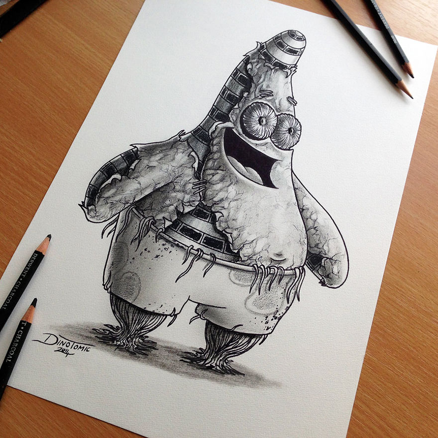 Expressive pencil drawings by dino tomic bored panda for Amazing drawings tumblr
