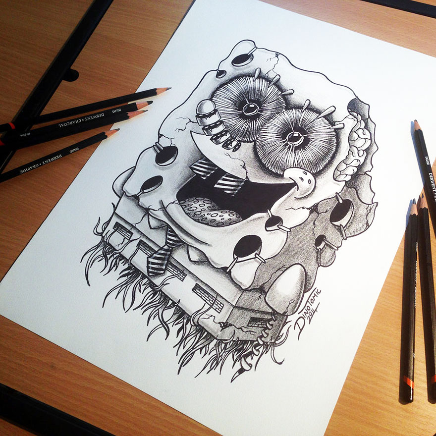 expressive pencil drawings by dino tomic bored panda