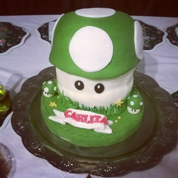 Level Up Cake