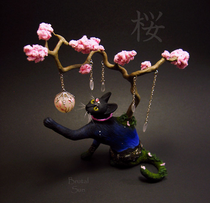 cat-figurines-polymer-clay-brutal-sun-3