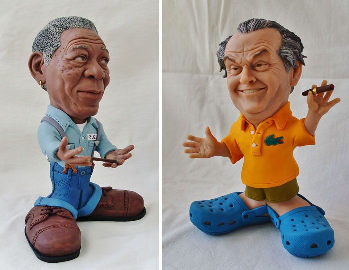 I Make Little Celebrity Sculptures Out Of Polymer Clay
