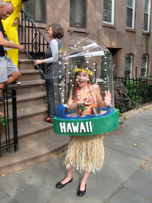 Hawaii Snow Globe Costume