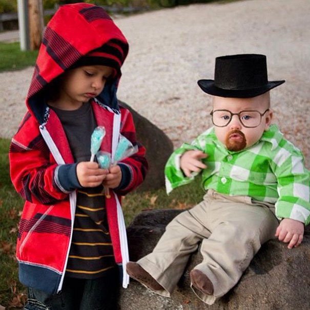"Walter White and Jesse Pinkman From ""Breaking Bad"""