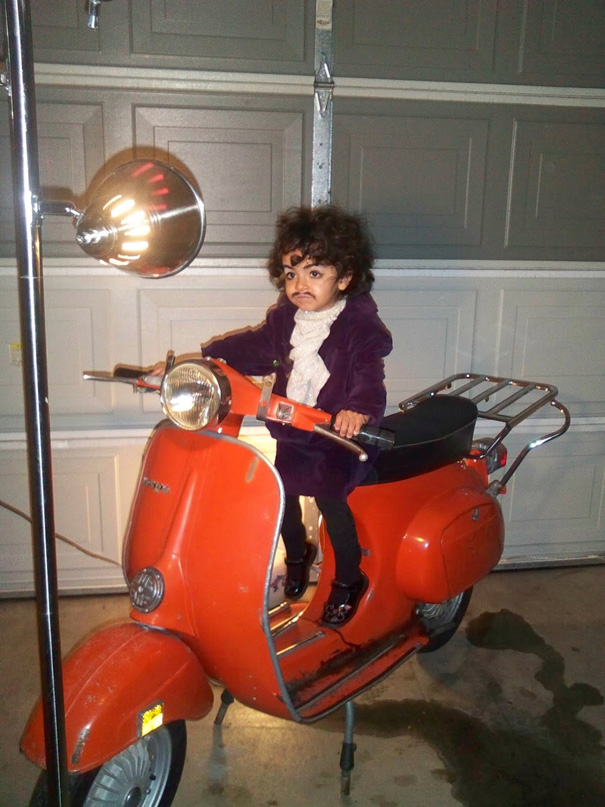 Prince On A Scooter