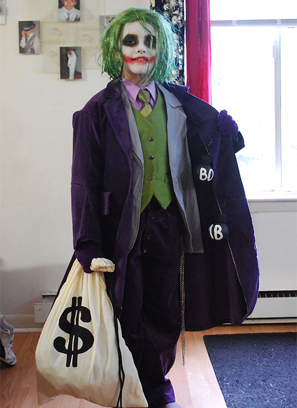 #42 The Joker  sc 1 st  Bored Panda : toddler joker costume  - Germanpascual.Com