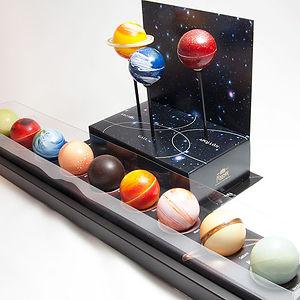Chocolate Truffle Planets