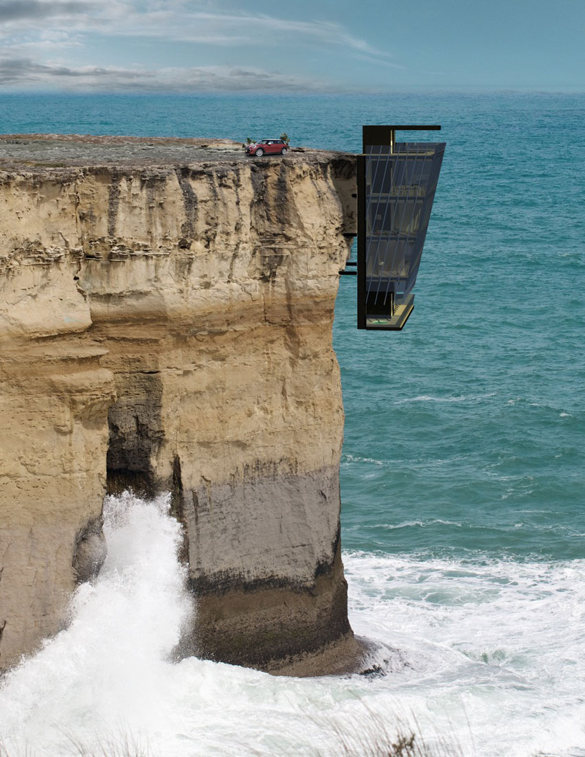 Extraordinary Vacation Home In Australia Clings To Cliff For Dear Life