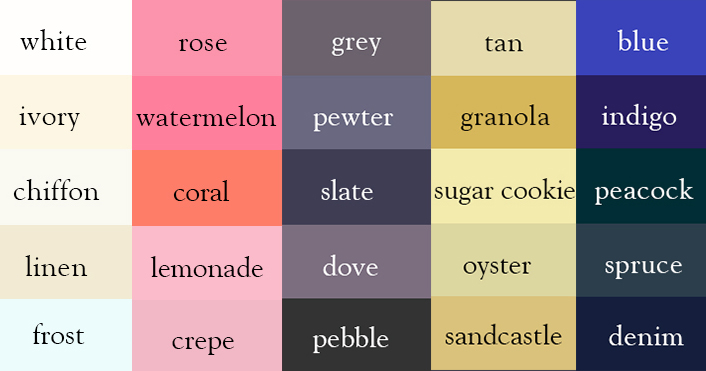 Writer Creates Color Thesaurus To Help You Correctly Name Any