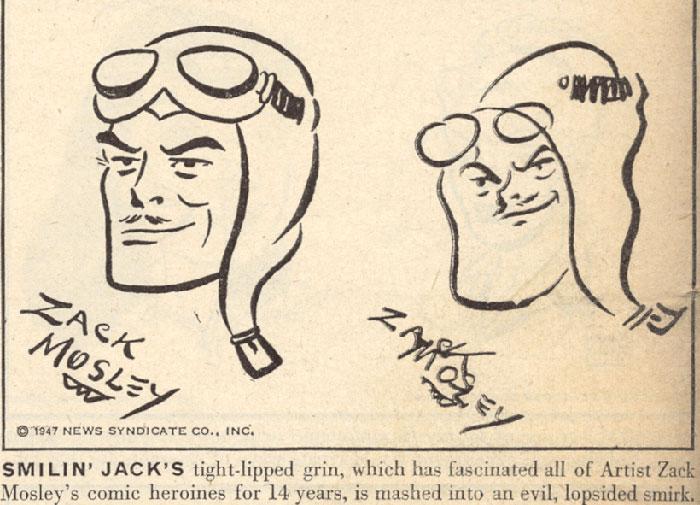 comic-strip-artists-draw-blindfolded-life-magazine-10