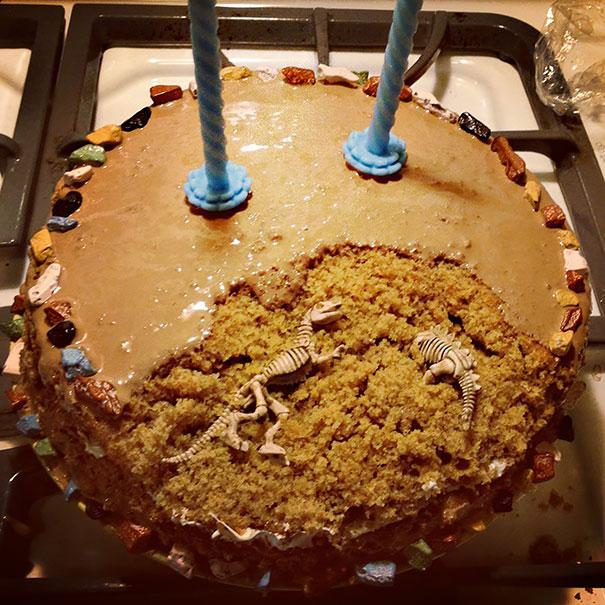 Paleontology Cake