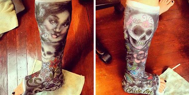 Tattoo Cast Art