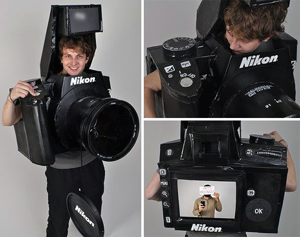 Nikon Camera Costume