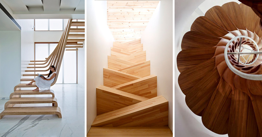 22 Beautiful Stairs That Will Make Climbing To The Second Floor Less  Annoying | Bored Panda