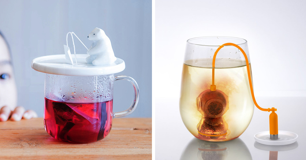20+ Of The Most Creative Tea Infusers For Tea Lovers