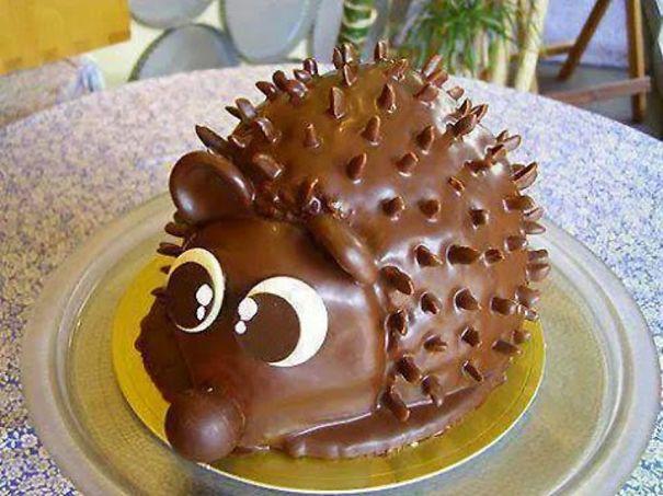 Here Is My Creative Cake - Cute&sweet&edgy.... ;)