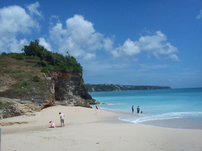 One Of Beautiful Beach In Bali-indonesia, Dreamland Beach