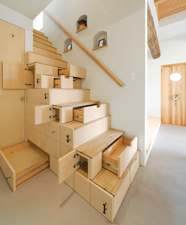 Space Saving Staircase Designs: 25 Of The Best Space-Saving Design Ideas For Small Homes