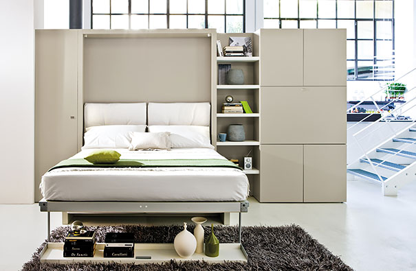 3 Open Layout Apartments That Use Clever SpaceSaving