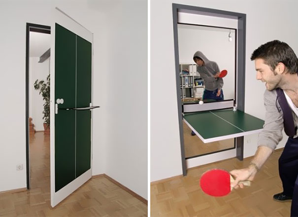 Ping Pong Table Door