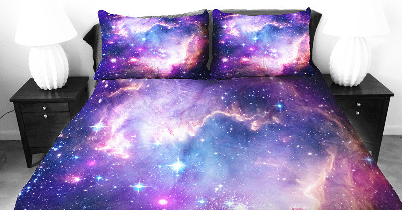 These Galaxy Beddings Will Let You Sleep Among The Stars