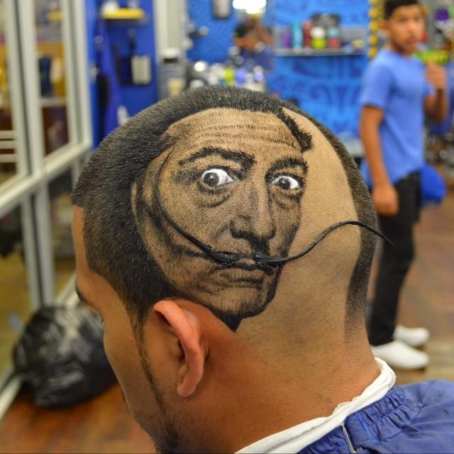 Hair Stylist Turns Clients' Hair Into Photo-Realistic Art