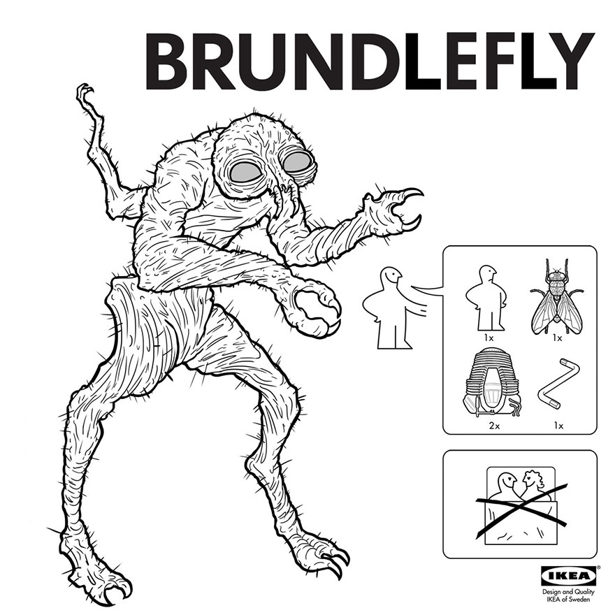 IKEA-Style Instructions for Assembling Your Very Own Monster By Ed Harrington