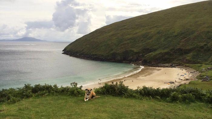 Keem Bay Isla de Achill Irlanda