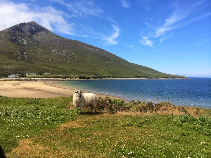 Dugort Beach, Achill Island, Co Mayo, Ireland