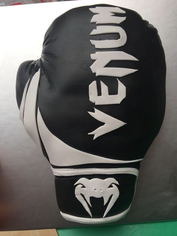 Boxing Glove I Made Today