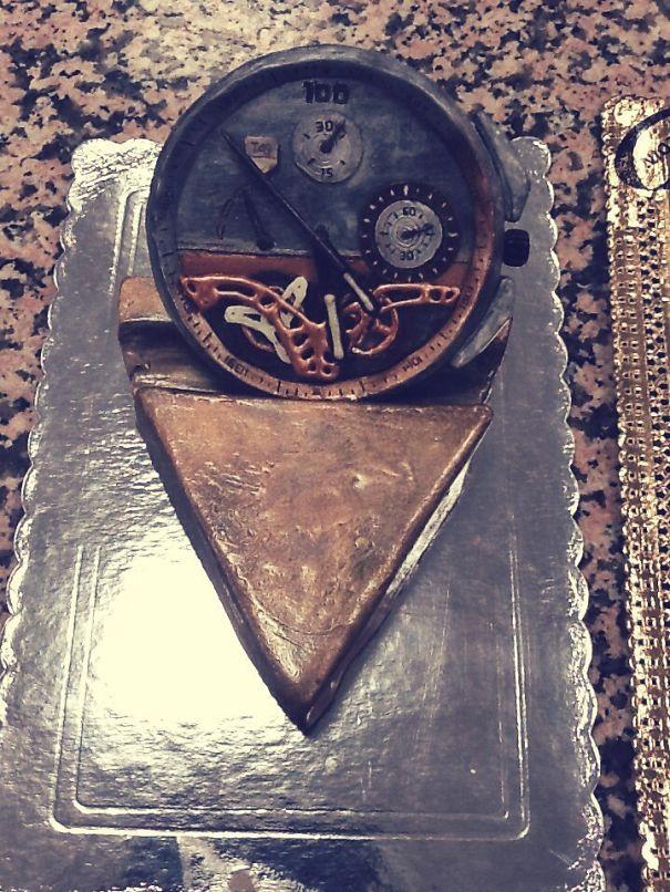 Chocolate Clock