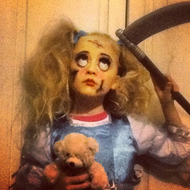 Scary Living Doll . Alyssa