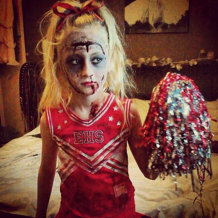 Zombie Cheerleader . Alyssa