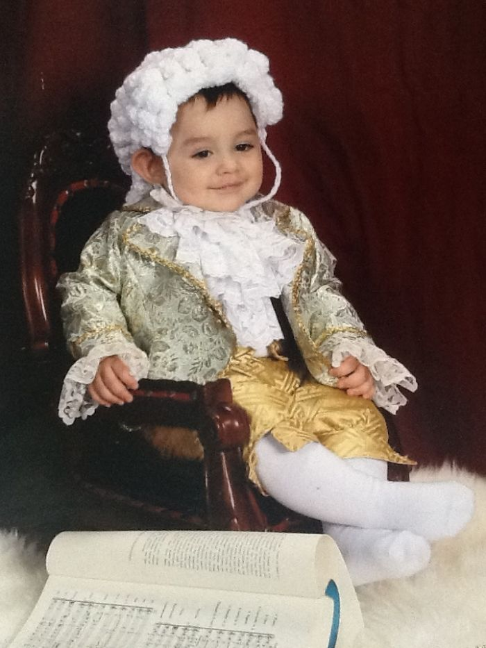My Son As Baby Mozart! Custom Made Everything. 2007