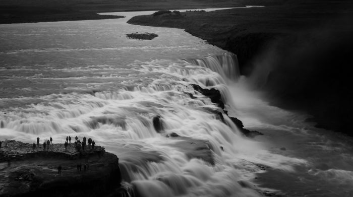 Gulfoss – Golden Falls In Iceland