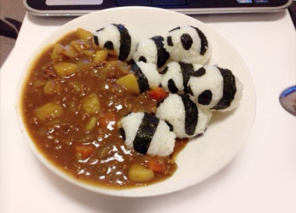 Pandas In A Curry