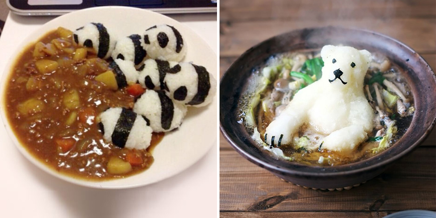 Incredibly cute meals inspired by japanese cuisine bored panda forumfinder Images