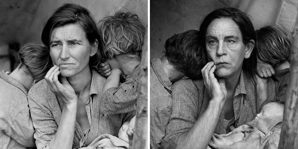 Photographer Recreates Famous Portraits With John Malkovich As His ...